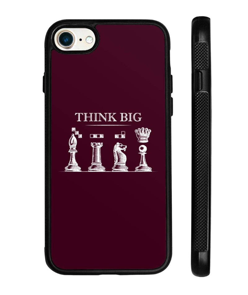 Chess iPhone case think big