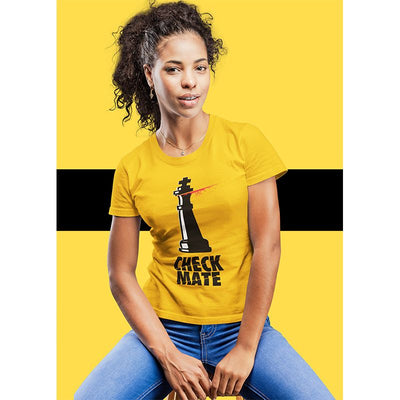 Chess Women T-shirt Kill Bill