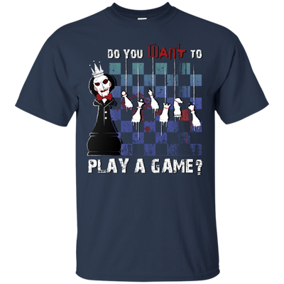 Chess t-shirt Saw