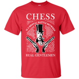 Chess t-shirt Real Gentlemen