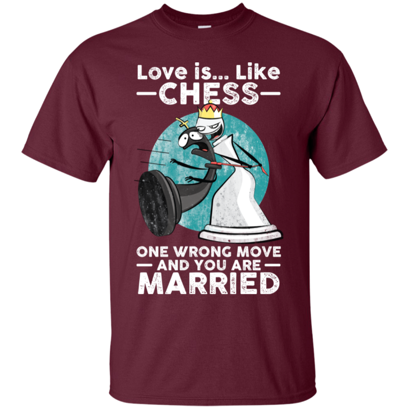 Chess t-shirt Marry or not?!