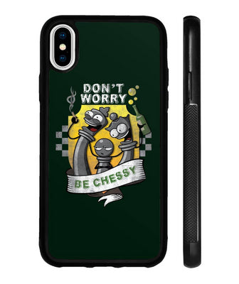 Chess iPhone case Don't worry