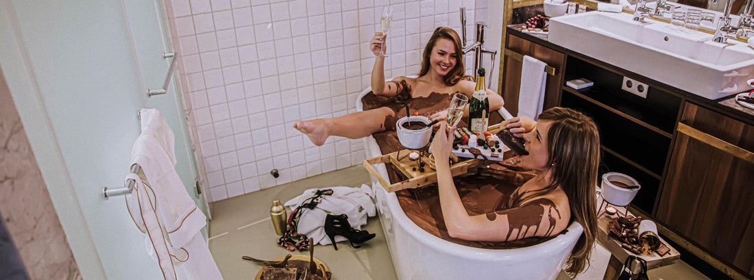 A chocolate bath & other exciting Valentine's Day ideas