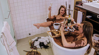 A chocolate bath and other exciting Valentine's Day ideas
