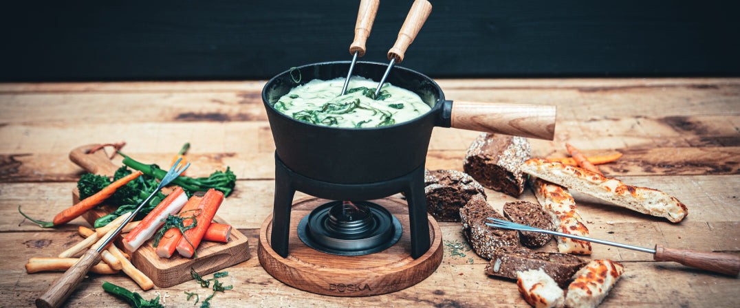 Seaweed, truffle & other surprising cheese fondue combinations