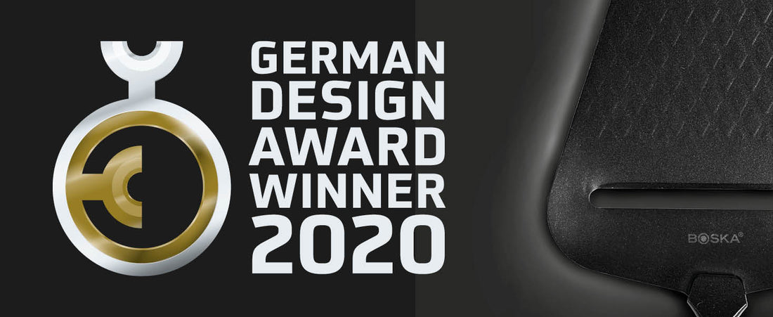 BOSKA's Cheese Slicer Monaco+ Black wins German Design Award