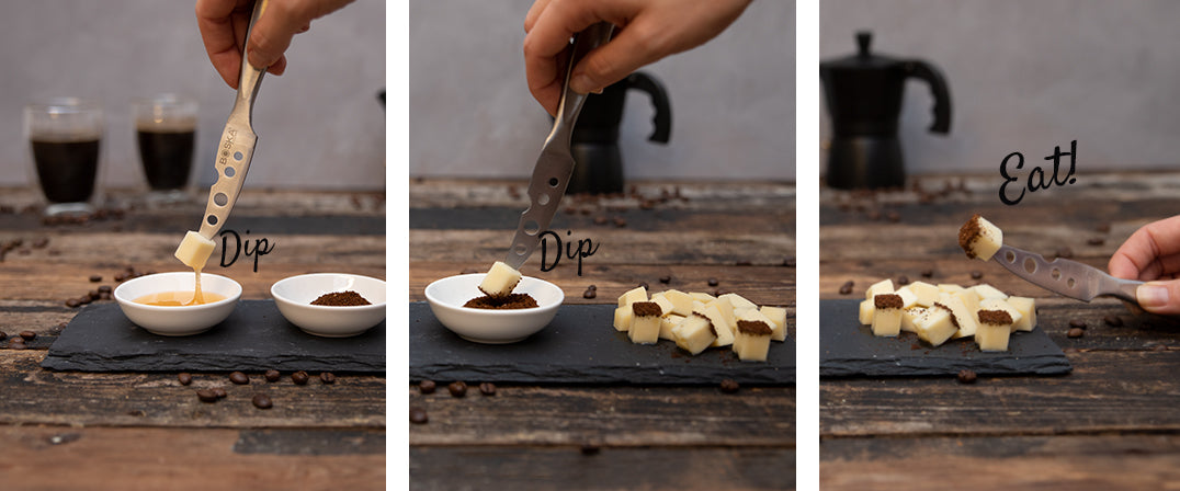 Boska step by step cheese & coffee