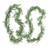 Decorative Greenery Buxaceae Garland set of 12 pieces