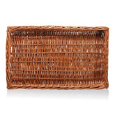 Wicker Basket, rectangular 520x320x50 mm