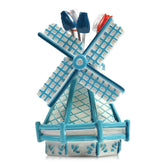 Party Pick Set Windmill Delft Blue