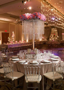 Chandelier wedding centerpiece wedding centerpiece for table tall chandelier wedding centerpiece wedding centerpiece for table tall vaseeiffel tower centerpiece aloadofball Images