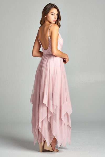 KATIE BLUSH DRESS, Evening, AG Studio, darling-glam-co