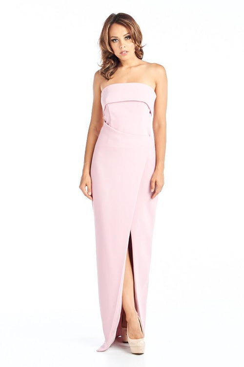 WRAPPED ZEPHYRE ROSE COCKTAIL DRESS, Cocktail, AG Studio, darling-glam-co