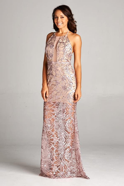 BRONZE HAYLEE COCKTAIL GOWN, Cocktail, AG Studio, darling-glam-co