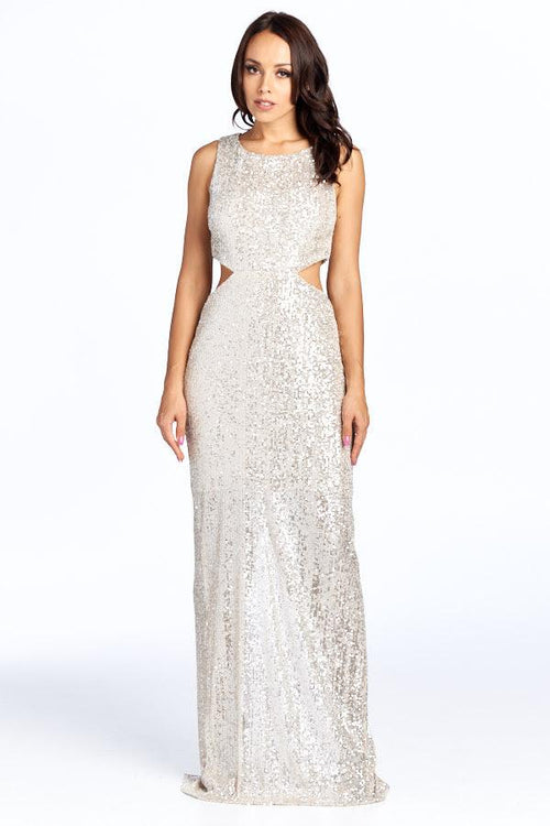 (PRE-ORDER) SEQUIN SALLY SHIMMER DRESS, Evening, AG Studio, darling-glam-co