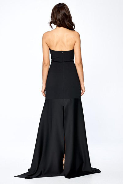 (PRE-ORDER) FLOW BLACK EVENING DRESS, Evening, AG Studio, darling-glam-co