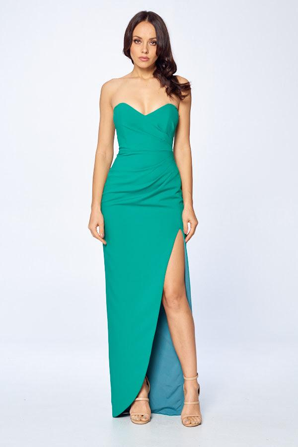 SWEETHEART STRAPLESS DRESS, Cocktail, AG Studio, darling-glam-co