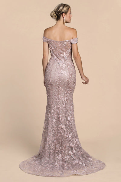 ROMAN EMPRESS LACE GOWN, Evening, Andrea & Leo, darling-glam-co