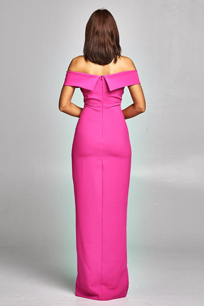 CARLY HOT PINK DRESS, Cocktail, AG Studio, darling-glam-co