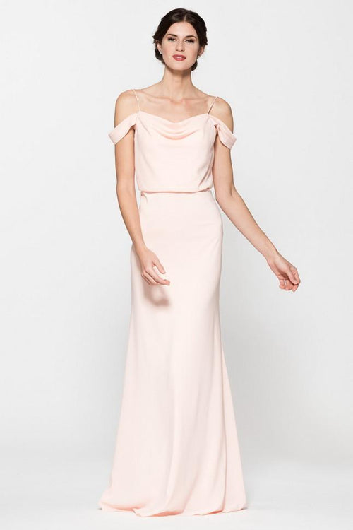 FAY BLUSH DRESS, Cocktail, AG Studio, darling-glam-co
