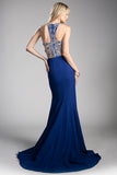 JILL NAVY EVENING GOWN, Evening, Cinderella Divine, darling-glam-co