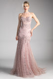 ELAINE LACE EVENING GOWN, Evening, Cinderella Divine, darling-glam-co