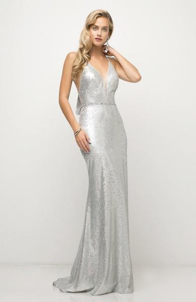 SILVER SEQUIN EVENING GOWN, Evening, Cinderella Divine, darling-glam-co