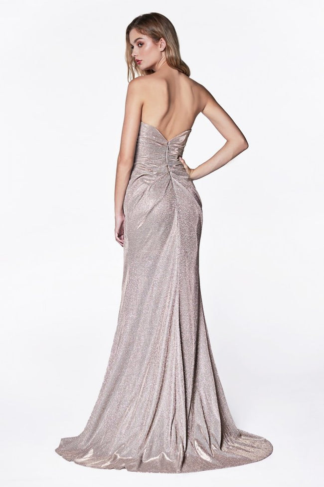 STRAPLESS ROUCHED SPARKLE MERMAID, Evening, Cinderella Divine, darling-glam-co