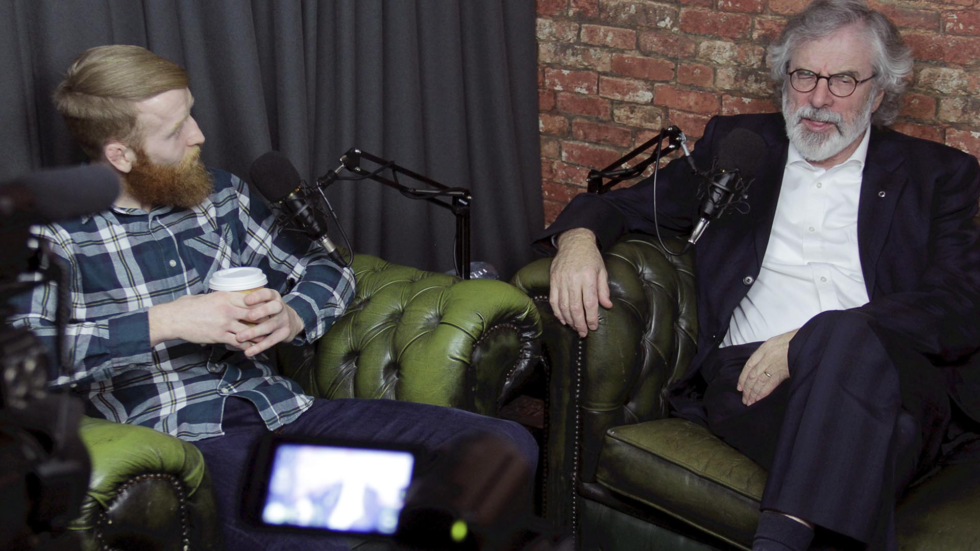 Gerry Adams joins Paddy Holohan on the No Shame Podcast