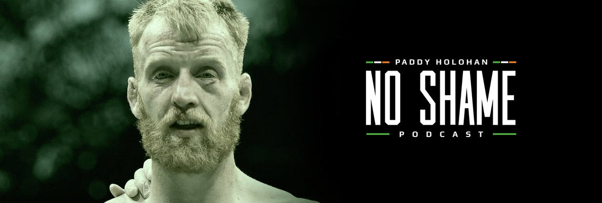 Paddy Holohan No Shame Podcast Logo