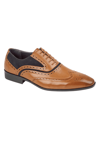 Belmond Tan/Navy Shoe