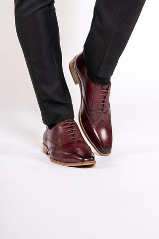 CARSON - Bordeux Burgandy Wine Shoe