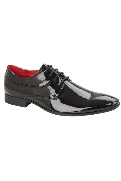 ASTAIRE Black Patent Shoe