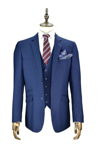 Jefferson 3 Piece Navy Suit