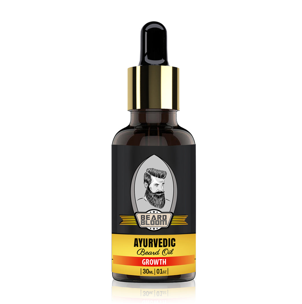 Beard Bloom Ayurvedic Beard Growth Oil