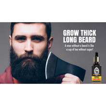 Load image into Gallery viewer, Beard Bloom Ayurvedic Beard Growth Oil