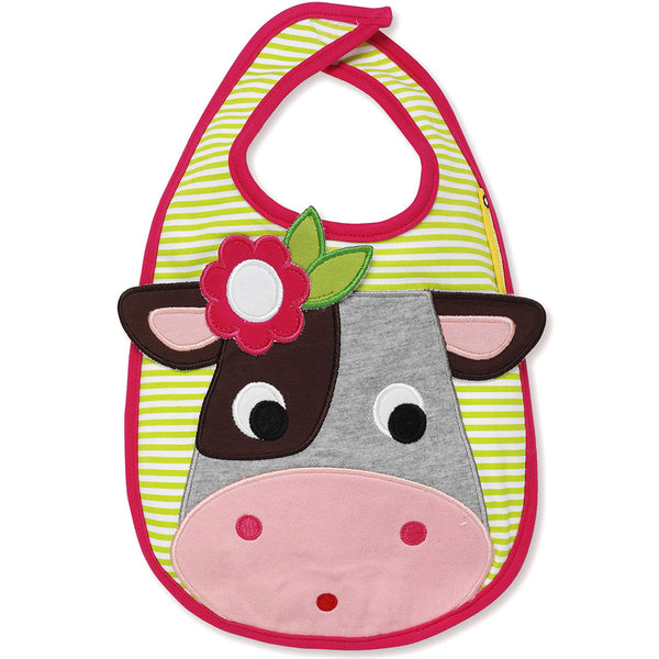 Olive & Moss Colette the Cow Bib