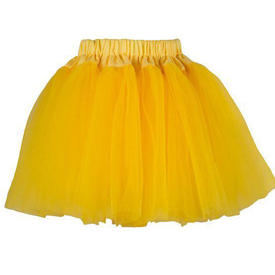 Bob & Blossom Party Skirt - Yellow - MAMAKA Shop