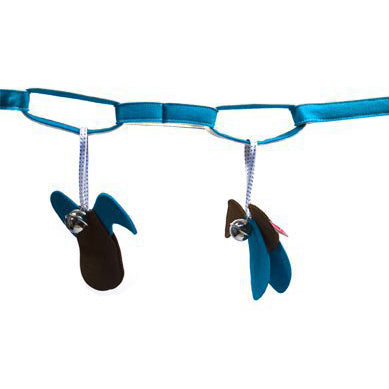 Esthex pramcord birds - blue - MAMAKA Shop