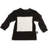 Nununu square patch t-shirt - Black - MAMAKA Shop