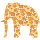 Inke handmade wallpaper Animals Safari - Elephant 022 - Left