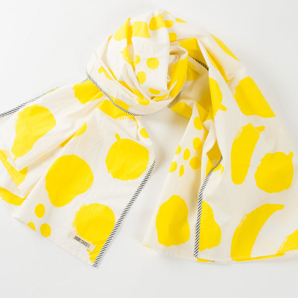 Bobo Choses Big Fruits Foulard  - Yellow - MAMAKA Shop