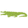 Inke handmade wallpaper Animals Safari - Crocodile 067 - Left - MAMAKA Shop