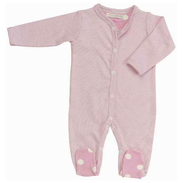 Pigeon Organics  simple romper - all-in-one - Pink