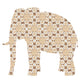 Inke handmade wallpaper Animals Safari - Elephant 041 - Left