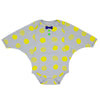 Franky Grow baby body 18-30 months beige-yellow dots - MAMAKA Shop