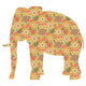 Inke handmade wallpaper Animals Safari - Elephant 082 - Left