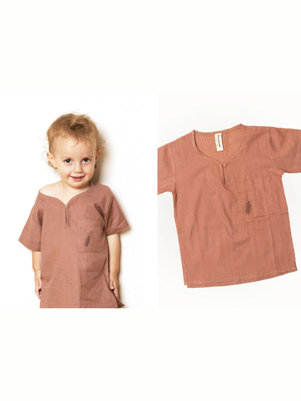 Shampoodle Collector Tunic - Brown