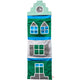 Esthex storage bag dutch house - Green Blue