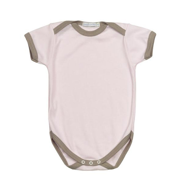 Organics For Kids Plain Body - 6-12 Months - Pink Taupe - MAMAKA Shop